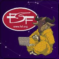 Get these eye-catching FSF & GNU patches! min $120.